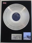 RUSH  - LP  Platinum Disc  - A FAREWELL TO KINGS